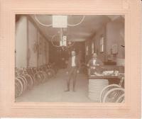Bicycle Shop - Vermont - Circa 1899